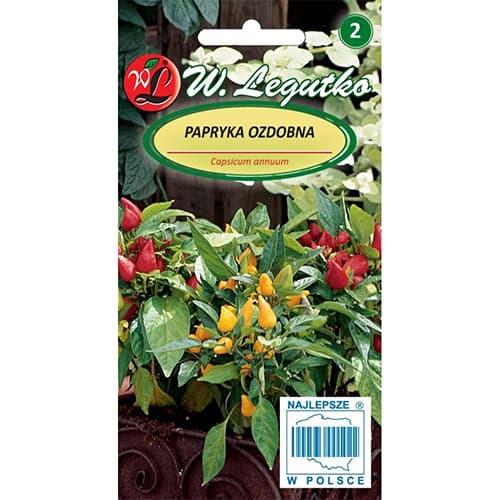 Ardei ornamental, mix multicolor Legutko imagine 1 articol 78626