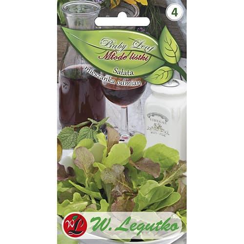Baby Leaf - Salată, amestec de soiuri Legutko imagine 1 articol 86715