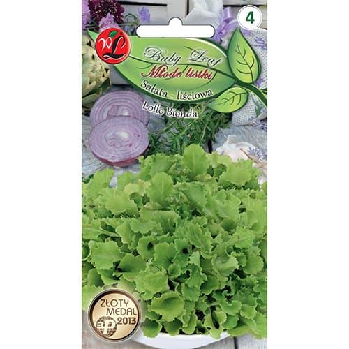 Baby Leaf - Salată Lollo Bionda Legutko imagine 1 articol 86712
