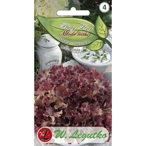 Baby Leaf - Salată Lollo Rossa Legutko imagine 1 articol 86713