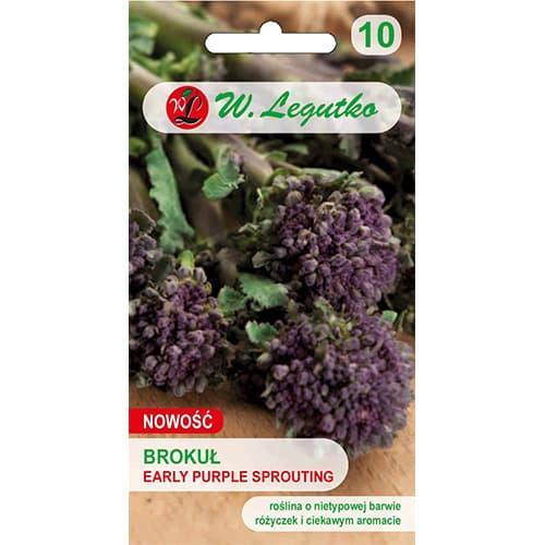 Broccoli Early Purple Legutko imagine 1 articol 78445