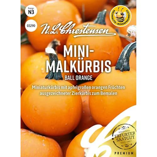Dolveac ornamental pitic Ball Orange Chrestensen imagine 1 articol 86172