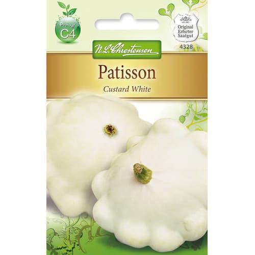 Dovlecel patison Custard White Chrestensen imagine 1 articol 78812