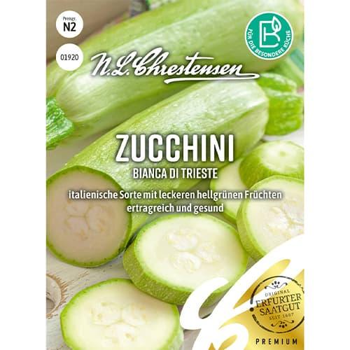Dovlecel zucchini Bianca di Trieste Chrestensen imagine 1 articol 86102