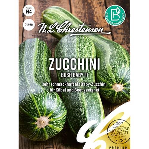 Dovlecel zucchini Bush Baby F1 Chrestensen imagine 1 articol 86103