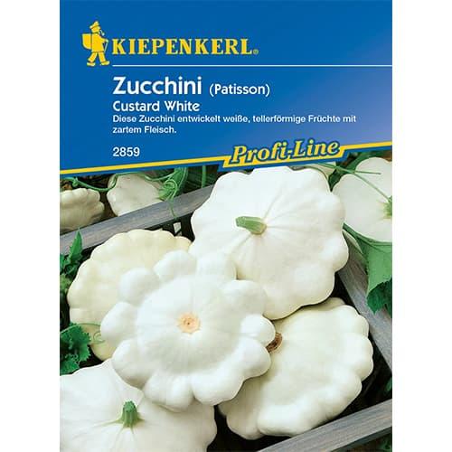 Dovlecel zucchini Custard White Kiepenkerl imagine 1 articol 86362