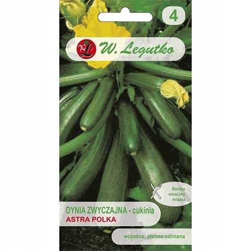 Dovlecel zucchini (Flori comestibile) Legutko imagine 1 articol 86729