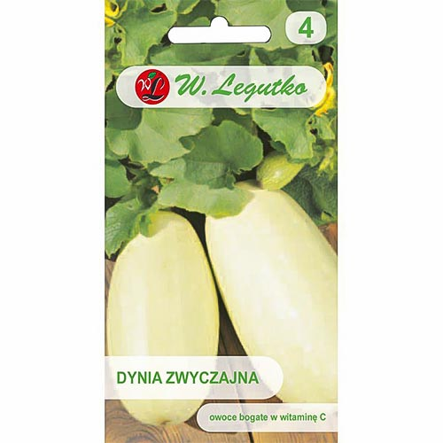 Dovlecel zucchini Lungo Bianco Legutko imagine 1 articol 78461