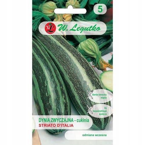 Dovlecel zucchini Striato d'Italia Legutko imagine 1 articol 78460