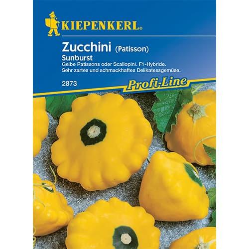 Dovlecel zucchini Sunburst F1 Kiepenkerl imagine 1 articol 86368