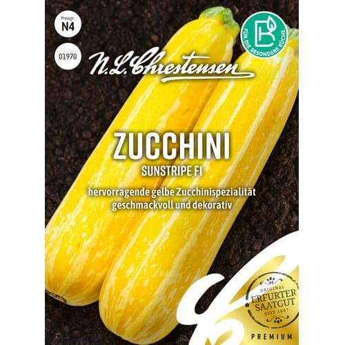 Dovlecel zucchini Sunstripe F1 Chrestensen imagine 1 articol 86105