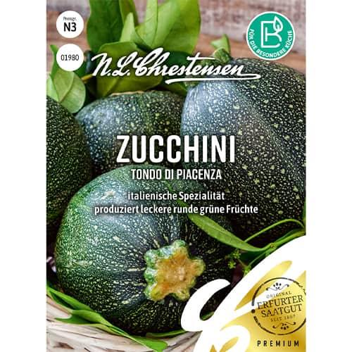 Dovlecel zucchini Tondo di Piacenza Chrestensen imagine 1 articol 86107