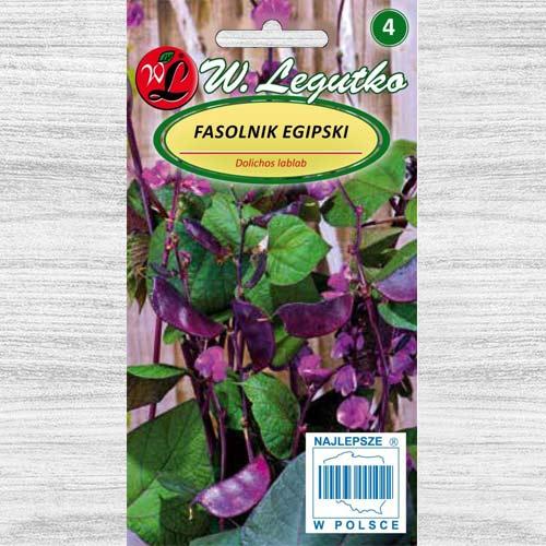 Fasole egipteană purpurie Legutko imagine 1 articol 78552