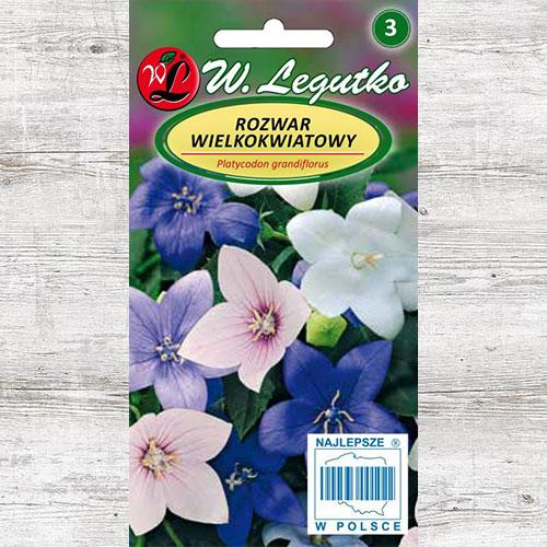 Floarea balon (Platycodon) Rozwar, mix multicolor Legutko imagine 1 articol 87110
