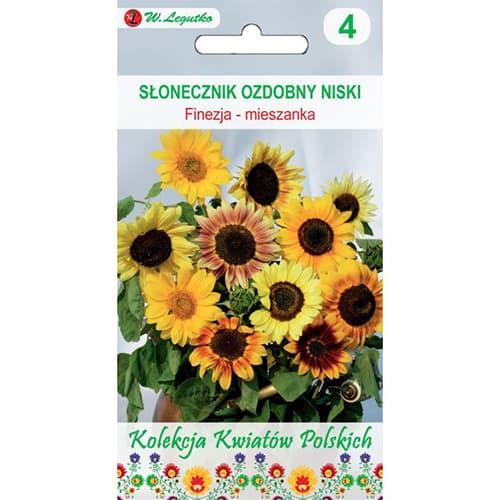 Floarea soarelui decorativă Finezja, mix multicolor Legutko imagine 1 articol 86730