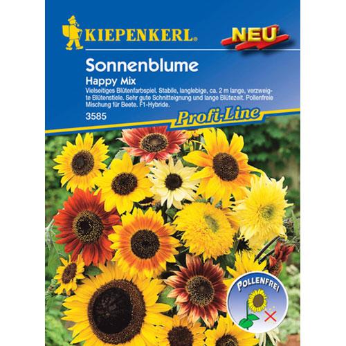 Floarea soarelui decorativă Happy F1, mix multicolor Kiepenkerl imagine 1 articol 87260