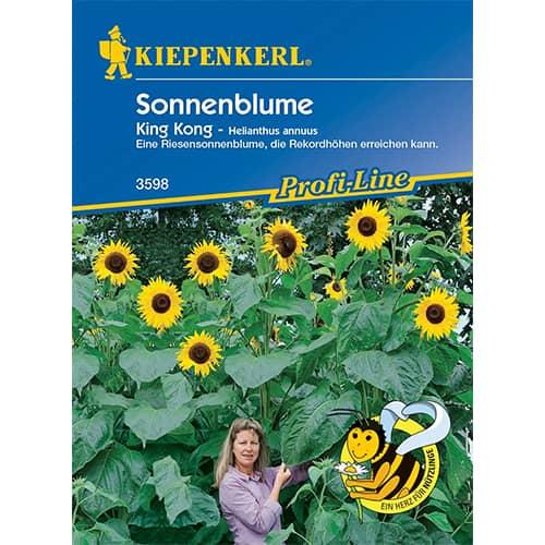 Floarea soarelui decorativă King Kong Kiepenkerl imagine 1 articol 86323
