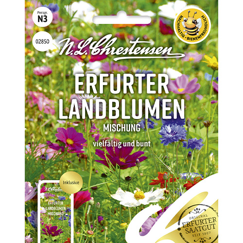Flori de câmp Country Flowers, mix multicolor Chrestensen imagine 1 articol 86221