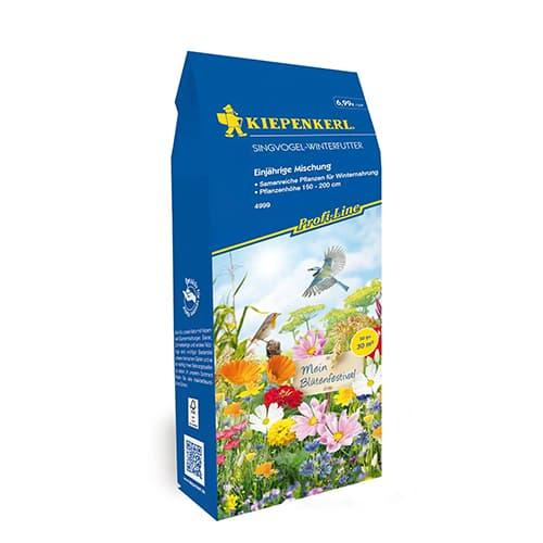 Flori de grădină hrană pentru păsări, mix multicolor Kiepenkerl imagine 1 articol 87251