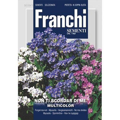 Flori de nu mă uita, mix multicolor imagine 1 articol 87128