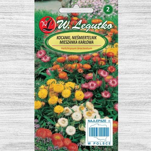 Flori de paie Tom Thumb, mix multicolor Legutko imagine 1 articol 78569