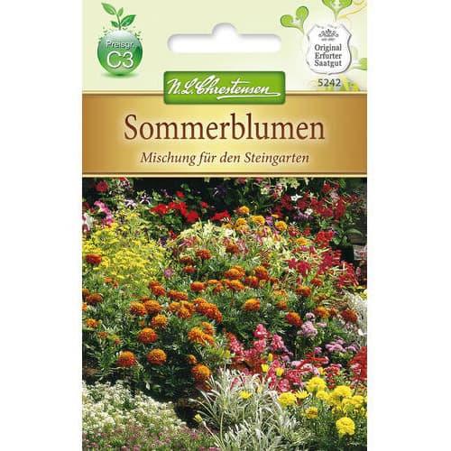 Flori de vară pentru stâncării, mix multicolor Chrestensen imagine 1 articol 78937