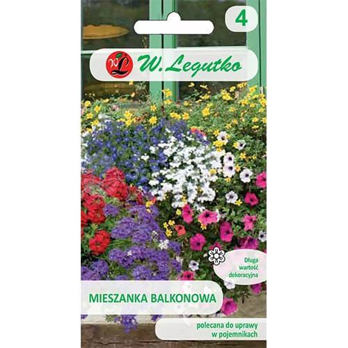 Flori pentru balcon, mix multicolor 2 Legutko imagine 1 articol 69605