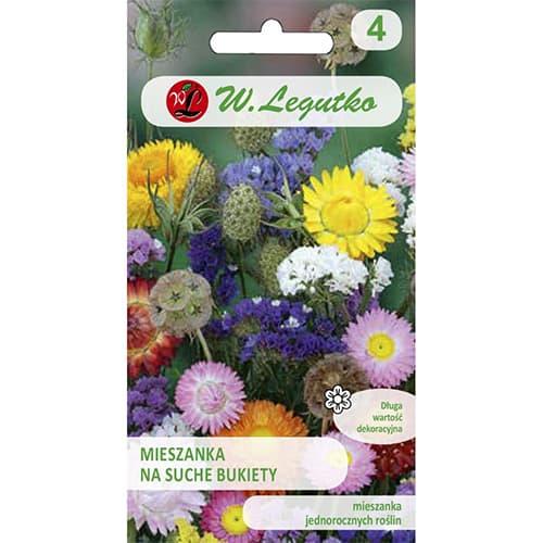 Flori pentru buchete uscate, mix multicolor Legutko imagine 1 articol 86847