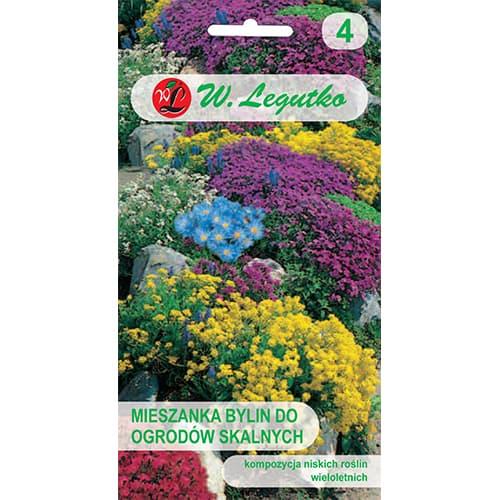 Flori perene pentru stâncării, mix multicolor Legutko imagine 1 articol 86850