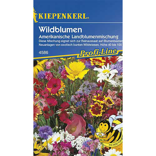 Flori sălbatice American Country, mix multicolor Kiepenkerl imagine 1 articol 86242