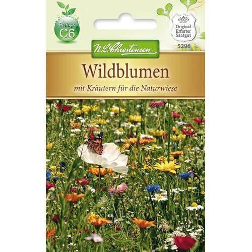 Flori și ierburi sălbatice, mix multicolor Chrestensen imagine 1 articol 78950