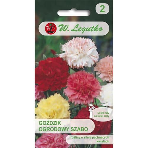 Garoafă de grădină Szabo, mix multicolor Legutko imagine 1 articol 69593