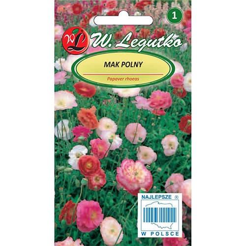 Mac de câmp, mix multicolor Legutko imagine 1 articol 78579