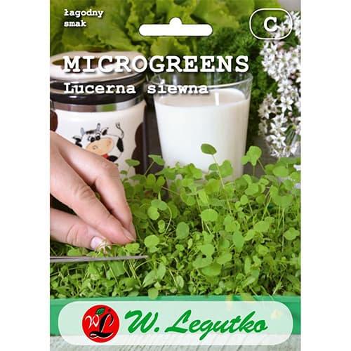 Microplante - Alfalfa (Lucernă) Legutko imagine 1 articol 78692