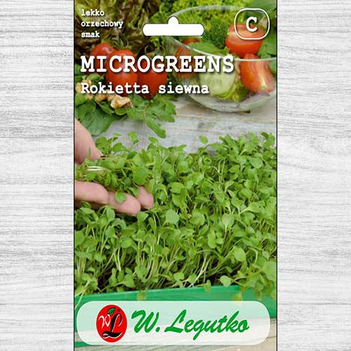Microplante - Rucola Legutko imagine 1 articol 78696