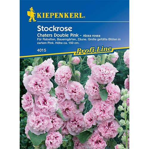 Nalbă de grădină (Alcea) Chaters Double Pink Kiepenkerl imagine 1 articol 86336