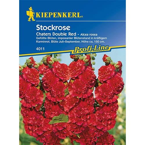 Nalbă de grădină (Alcea) Chaters Double Red Kiepenkerl imagine 1 articol 77442
