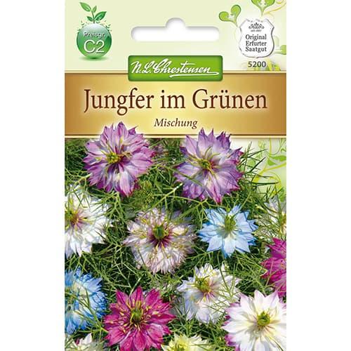 Nigella damascena, mix multicolor Chrestensen imagine 1 articol 78926