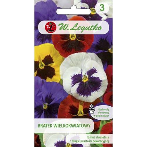 Panseluțe cu flori mari (Flori comestibile) Legutko imagine 1 articol 86727