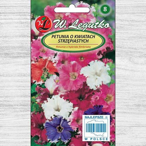 Petunie curgătoare, mix multicolor Legutko imagine 1 articol 78647