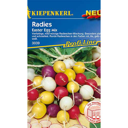 Ridiche Easter Egg, mix multicolor Kiepenkerl imagine 1 articol 86509