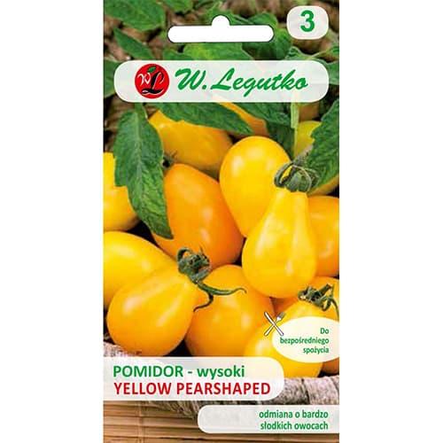 Roșie Yellow Pearshaped Legutko imagine 1 articol 69527