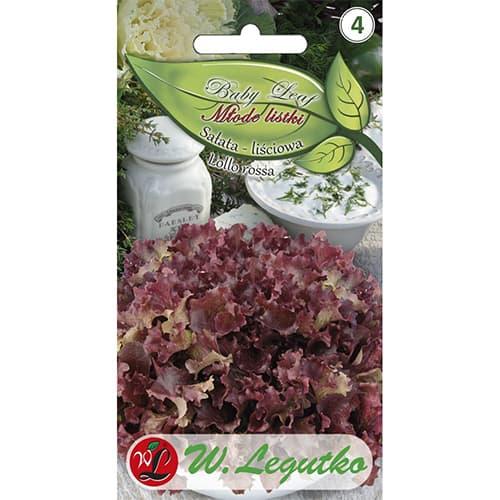 Salată de frunze Lollo Rossa Legutko imagine 1 articol 86903