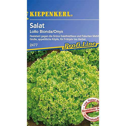 Salată Lollo Bionda Kiepenkerl imagine 1 articol 86474
