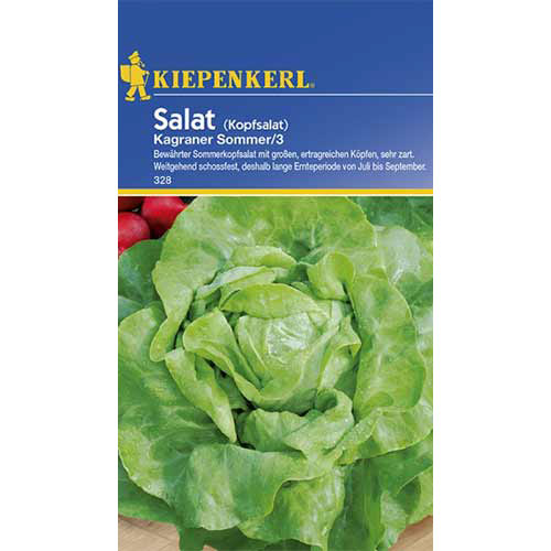 Salată verde Kagraner Summer 2 Kiepenkerl imagine 1 articol 86462