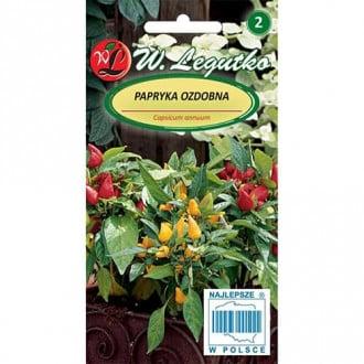 Ardei ornamental, mix multicolor Legutko imagine 4