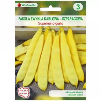 Fasole oloagă Supernano giallo Legutko imagine 8