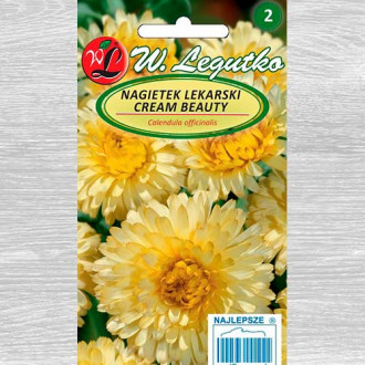 Gălbenele Cream Beauty Legutko imagine 3