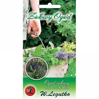Ierburi aromatice Grădină perenă, amestec Legutko imagine 3