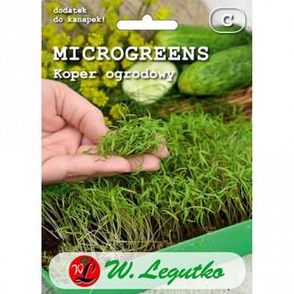 Microplante - Mărar de grădină Legutko imagine 6